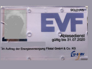 EVF beginnt mit der Jahresablesung