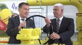 """Mehr Versorgungssicherheit mit der neuen Gasübergabestation """"Voralb"""""""
