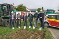 Erschließung mit Erdgas: Auftakt der Bauarbeiten in Lauterstein