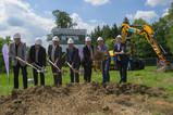Spatenstich für das neue EVF-Rechenzentrum im Stauferpark