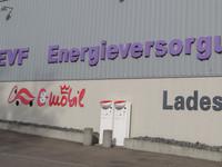 EVF-Stromtankstelle vorübergehend abgebaut