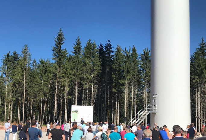 Windpark Falkenhöhe geht in Betrieb