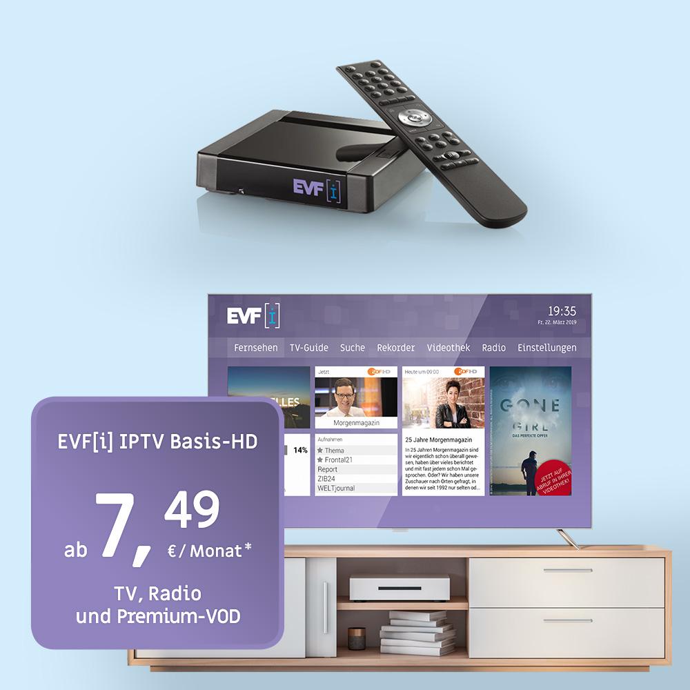 Online-Videothek und -Recorder von EVF-i