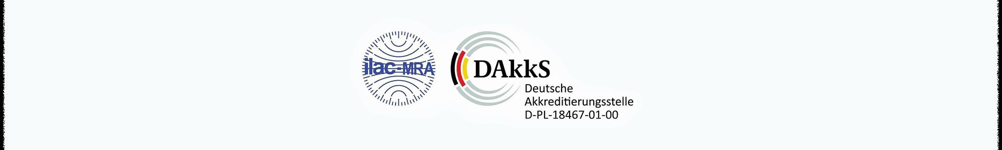 Logo ilac-MFA & DAkkS